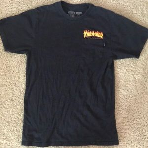 Thrasher tee with cool logo.